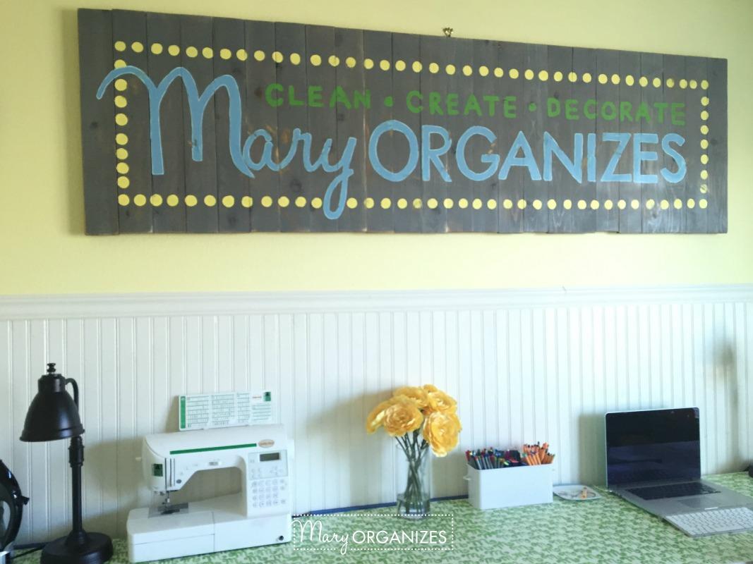 Tour my Mary ORGANIZES Studio - 16