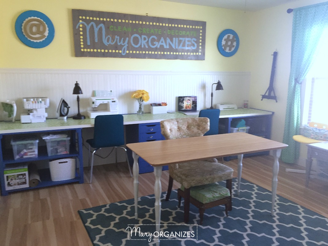 Tour my Mary ORGANIZES Studio
