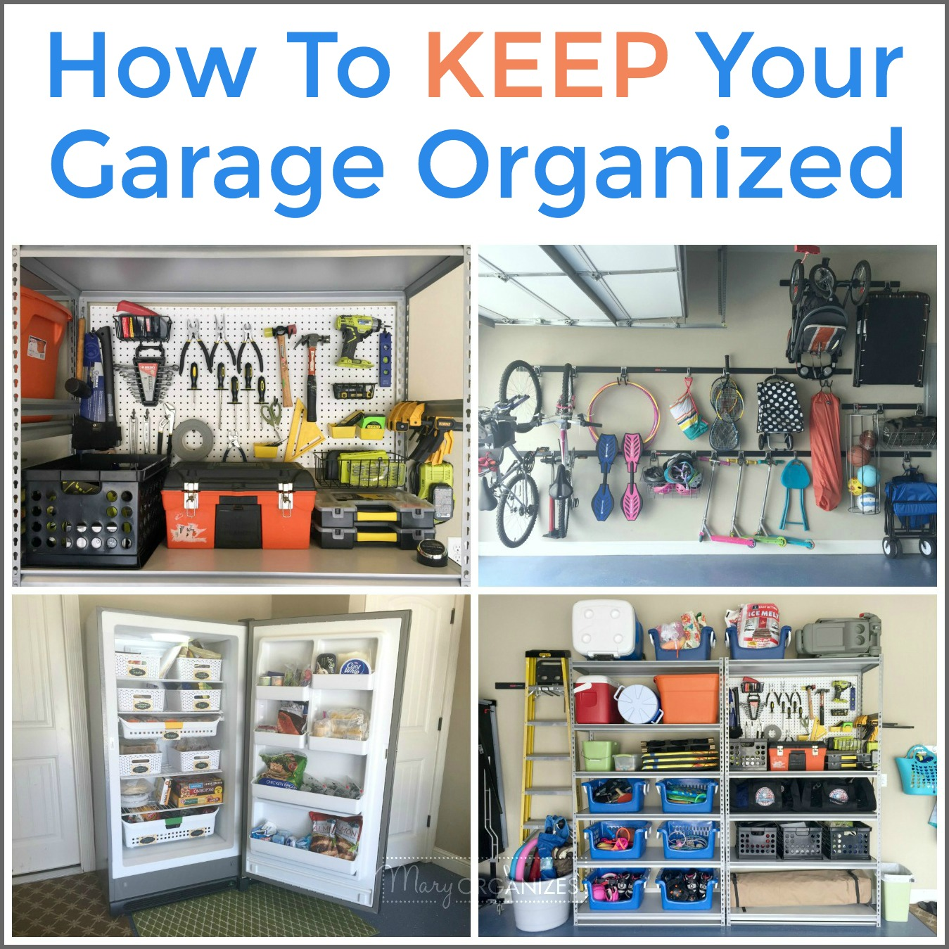 Organize Your Garage: ONE WEEK All About The Garage ... on Organized Garage  id=41454