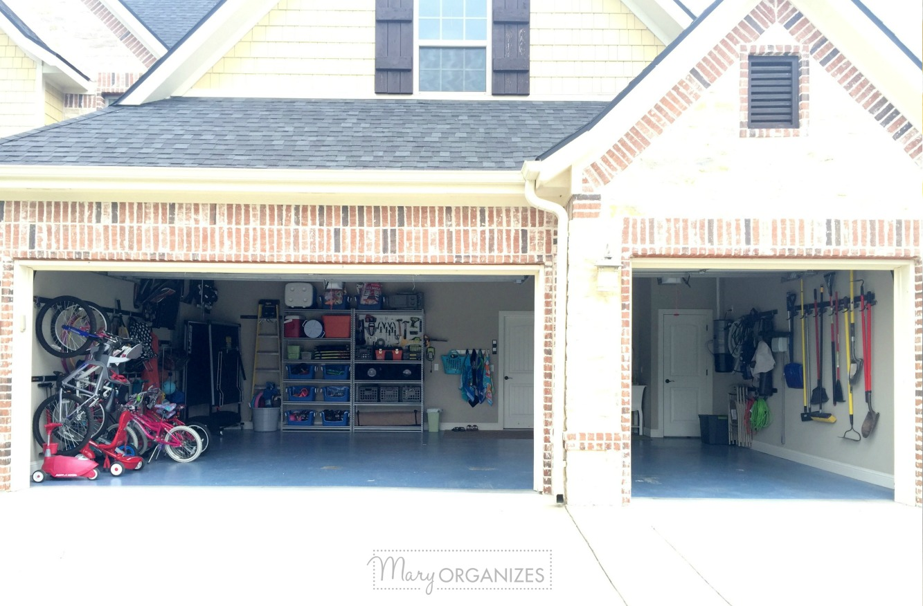 My Re-Organized Garage Reveal 1