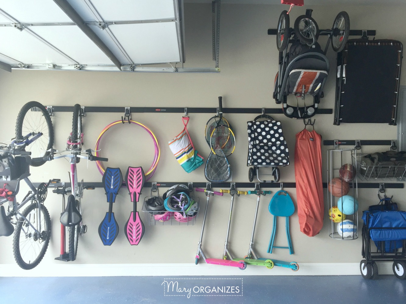 My Re-Organized Garage Reveal 4