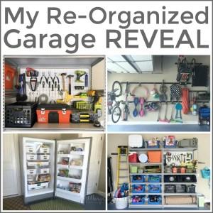 My Re-Organized Garage REVEAL
