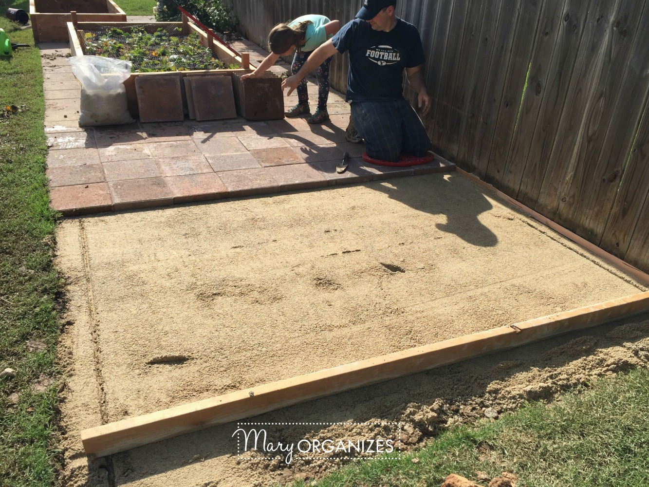 How To Install A Paver Patio The Foundation Of My Raised