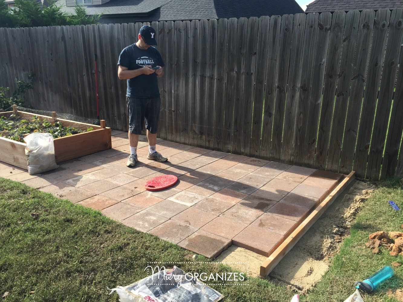 How To Install Paver Patio   My Raised Garden Foundation 14