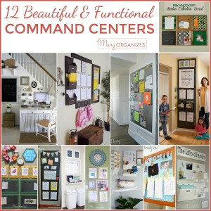 12 Beautiful & Functional Command Centers to Inspire
