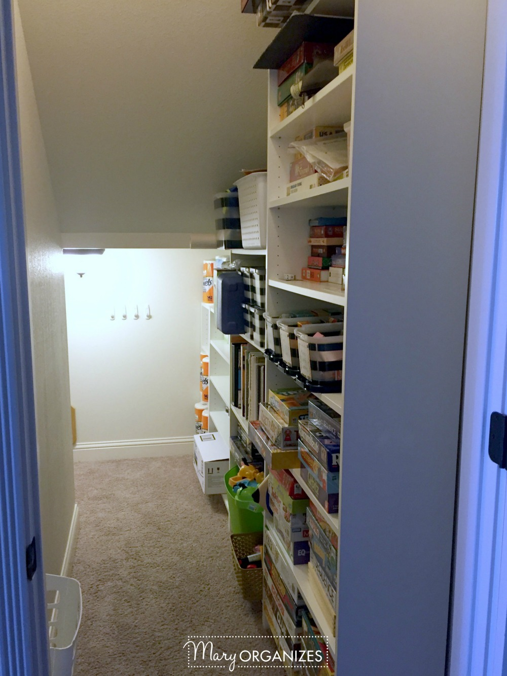 Closet Under The Stairs Update 18