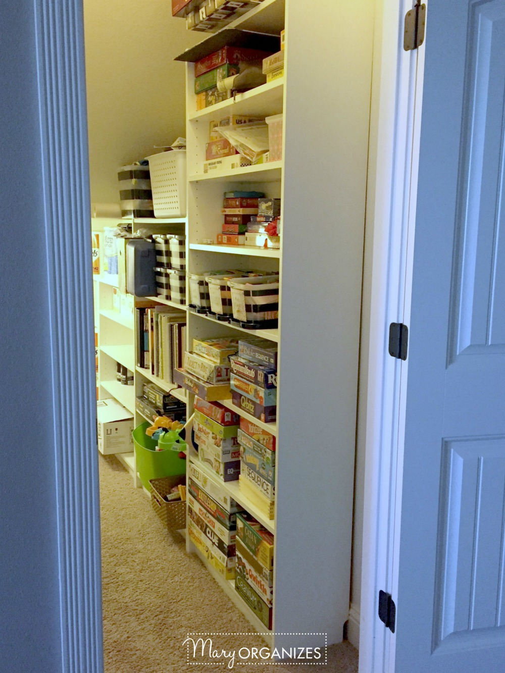 Closet Under The Stairs Update 2