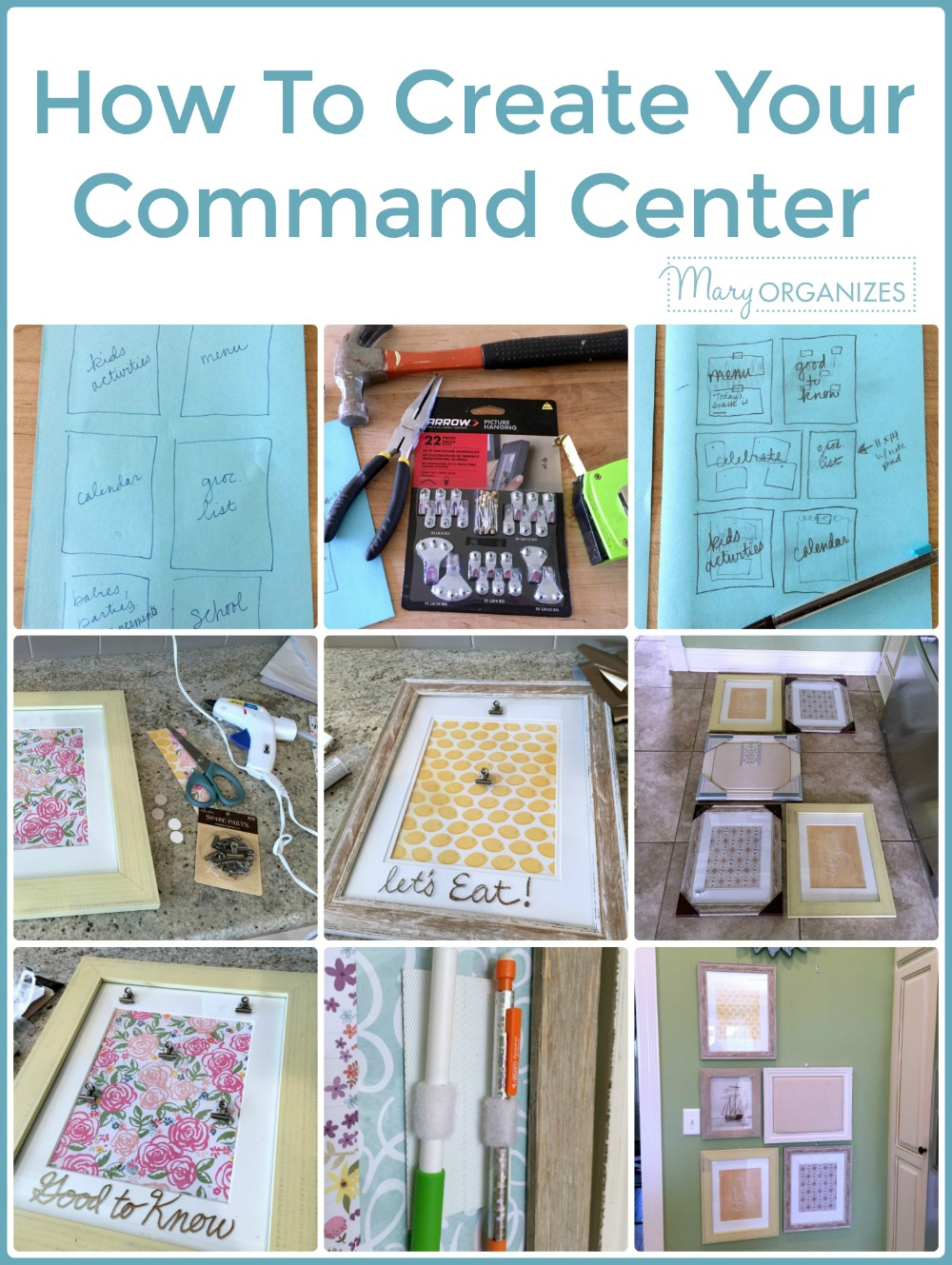 How To Create Your Command Center -v