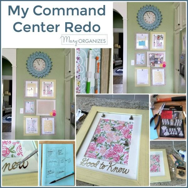 My Command Center Redo