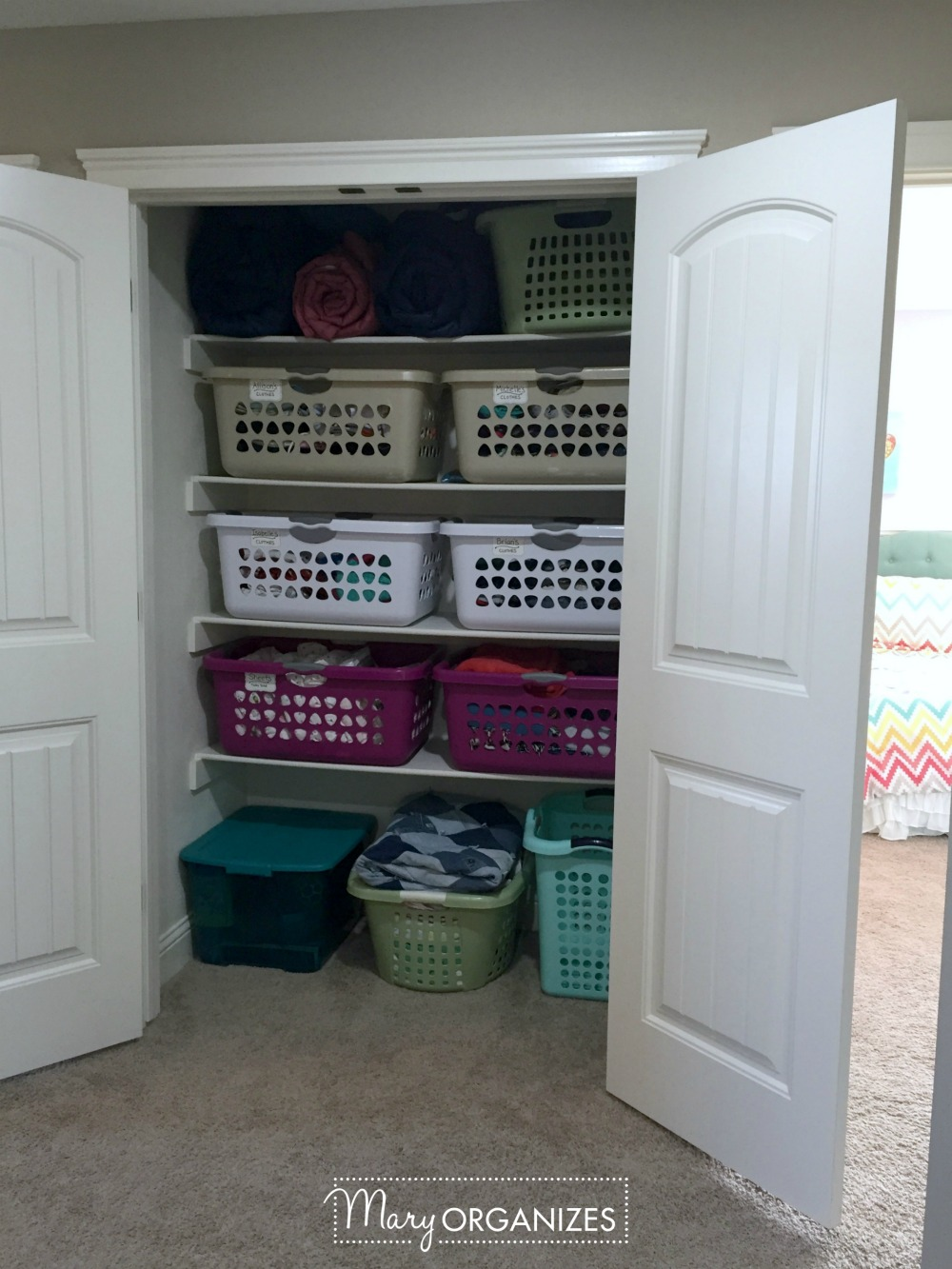 Peek Inside My Linen Closet Update 2