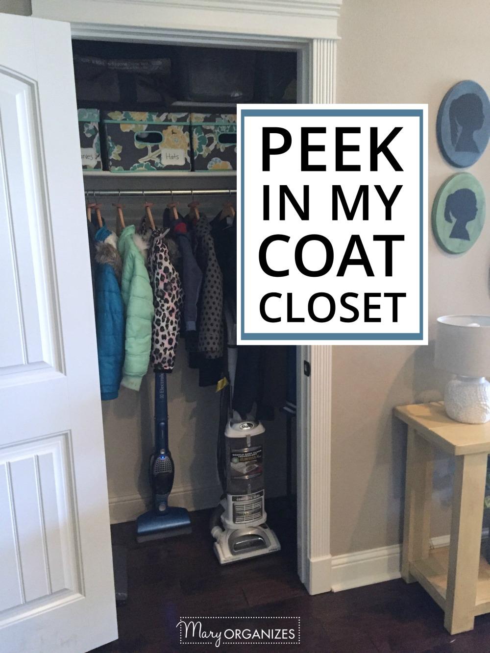Peek in my Coat Closet -v