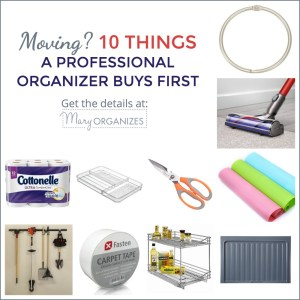 Moving? 10 Things A Professional Organizer Buys FIRST