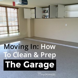 Moving In: How To Clean & Prep The Garage