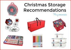 Christmas Storage: Putting Away Christmas Decor