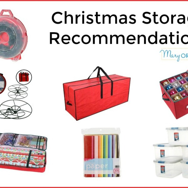 Christmas Storage: Putting Away Christmas Decor