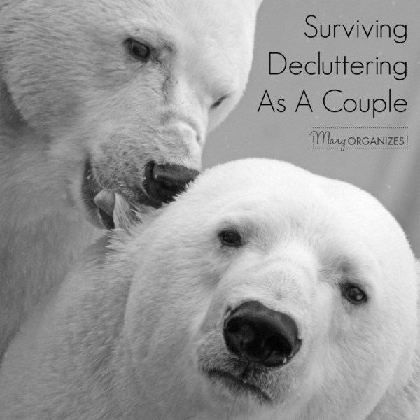 Surviving Decluttering As A Couple
