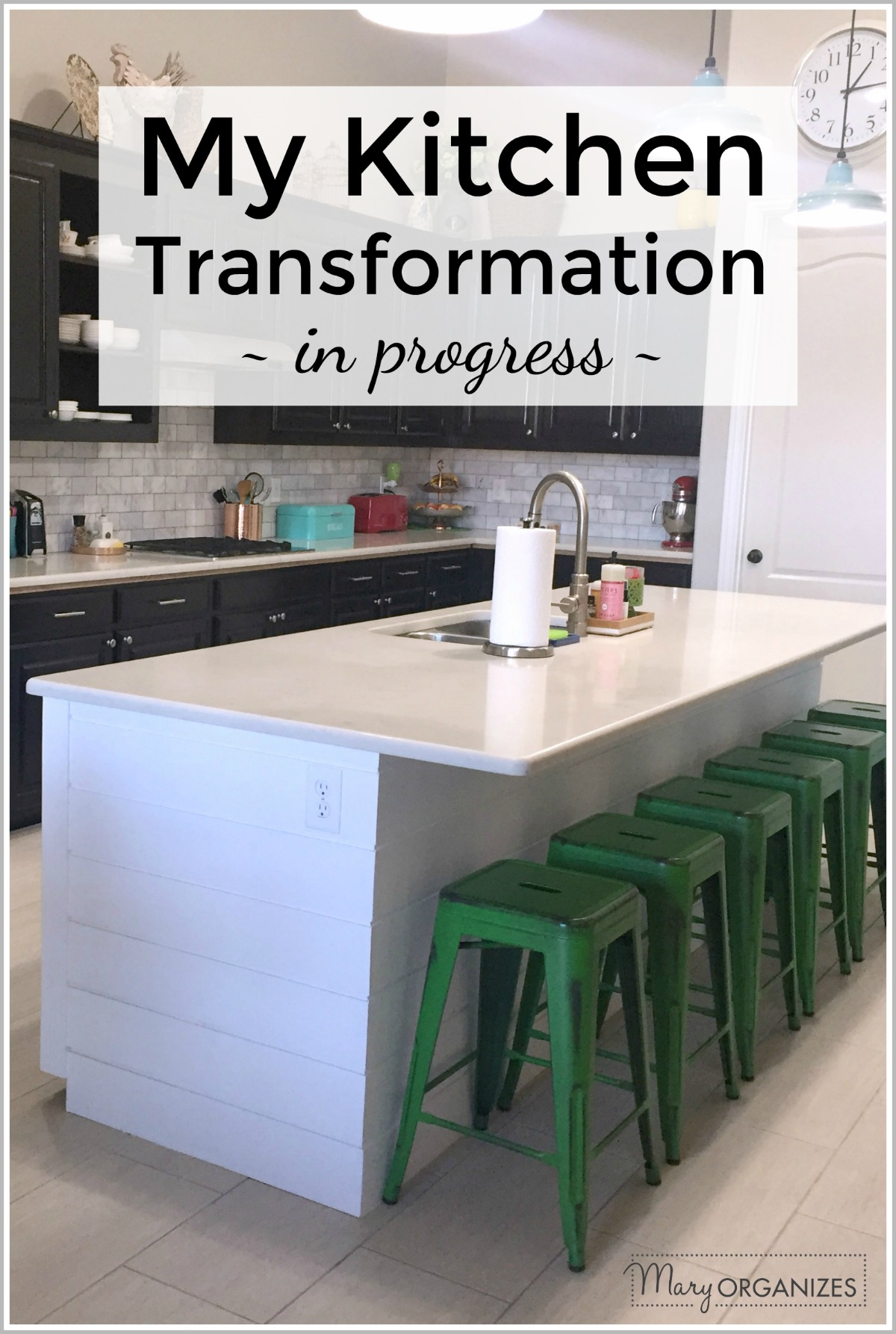 Kitchen Update and Transformation in progress -v
