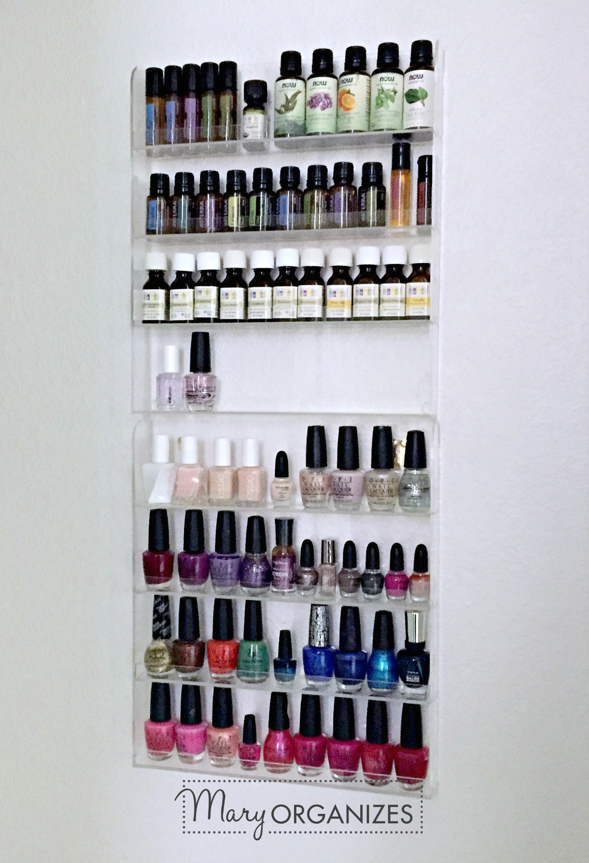Organizing Nail Polish and Essential Oils -v3