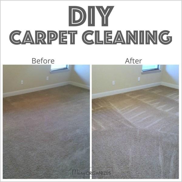 DIY Carpet Cleaning
