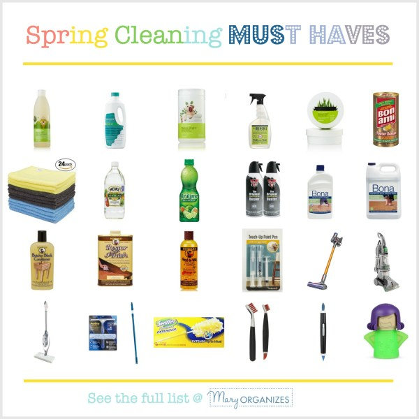Spring Cleaning MUST HAVES
