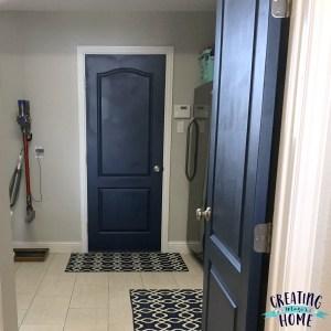 White Trim, Dark Paint -> Why I'm Going Dark With My Doors