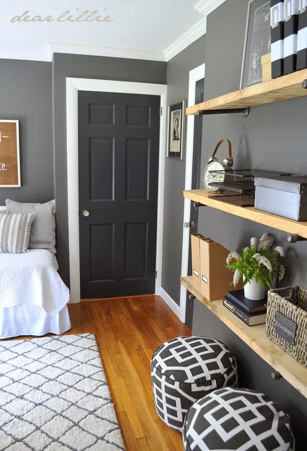 White Trim, Dark Paint -> Why I'm Going Dark With My Doors ...