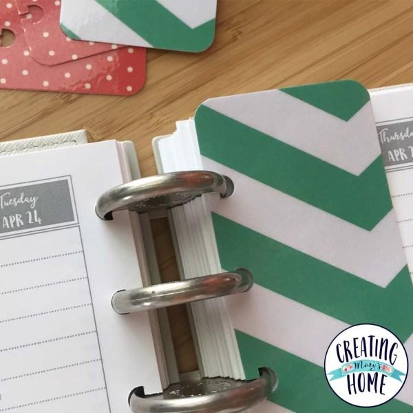 DIY: Planner Bookmark