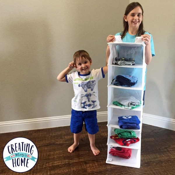 Kids Daily Outfit Sorter (& More Organizing)