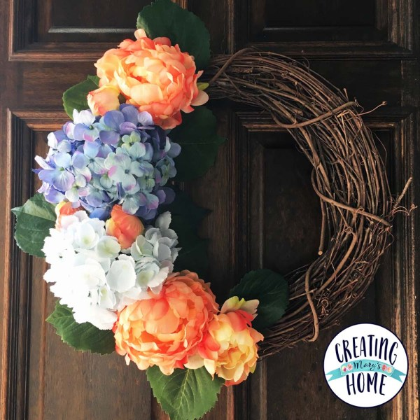 Recycle Old Flowers into a New Wreath