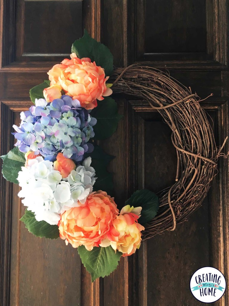 Recycle old flowers into a new wreath creatingmaryshome i go through phases where i love silk flowers then i hate all my silk flowers probably there isnt much wrong with the actual flowers but it is me who mightylinksfo