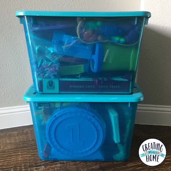 Grandma Bins (How I keep my favorite toys as my kids grow …)