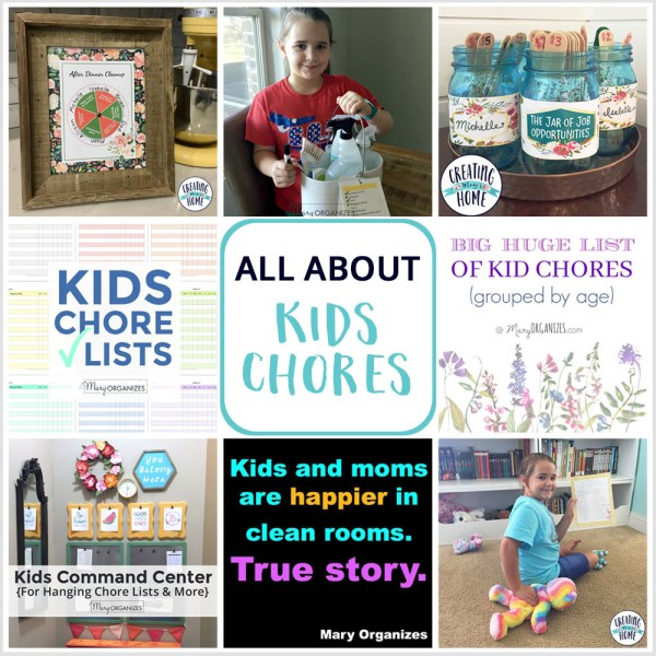 All About Kids Chores