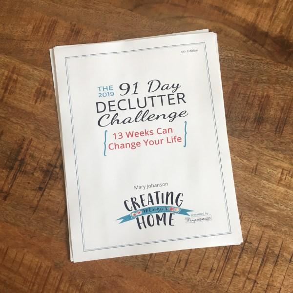2019 Declutter Challenge