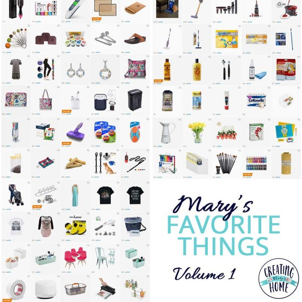 Mary's Favorite Things: Volume 1