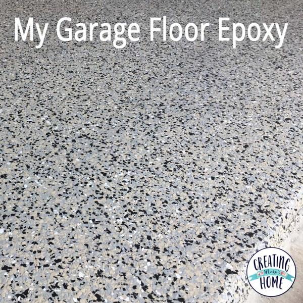 My Epoxy Garage Floor