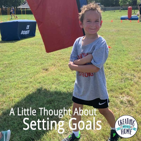 A little thought about Setting Goals