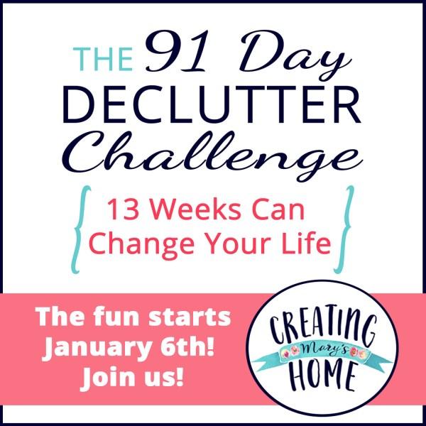 2020 Declutter Challenge
