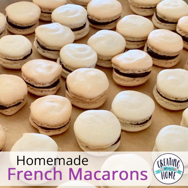 Homemade French Macarons
