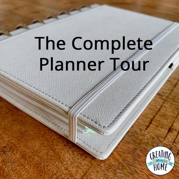 The Complete Planner Tour