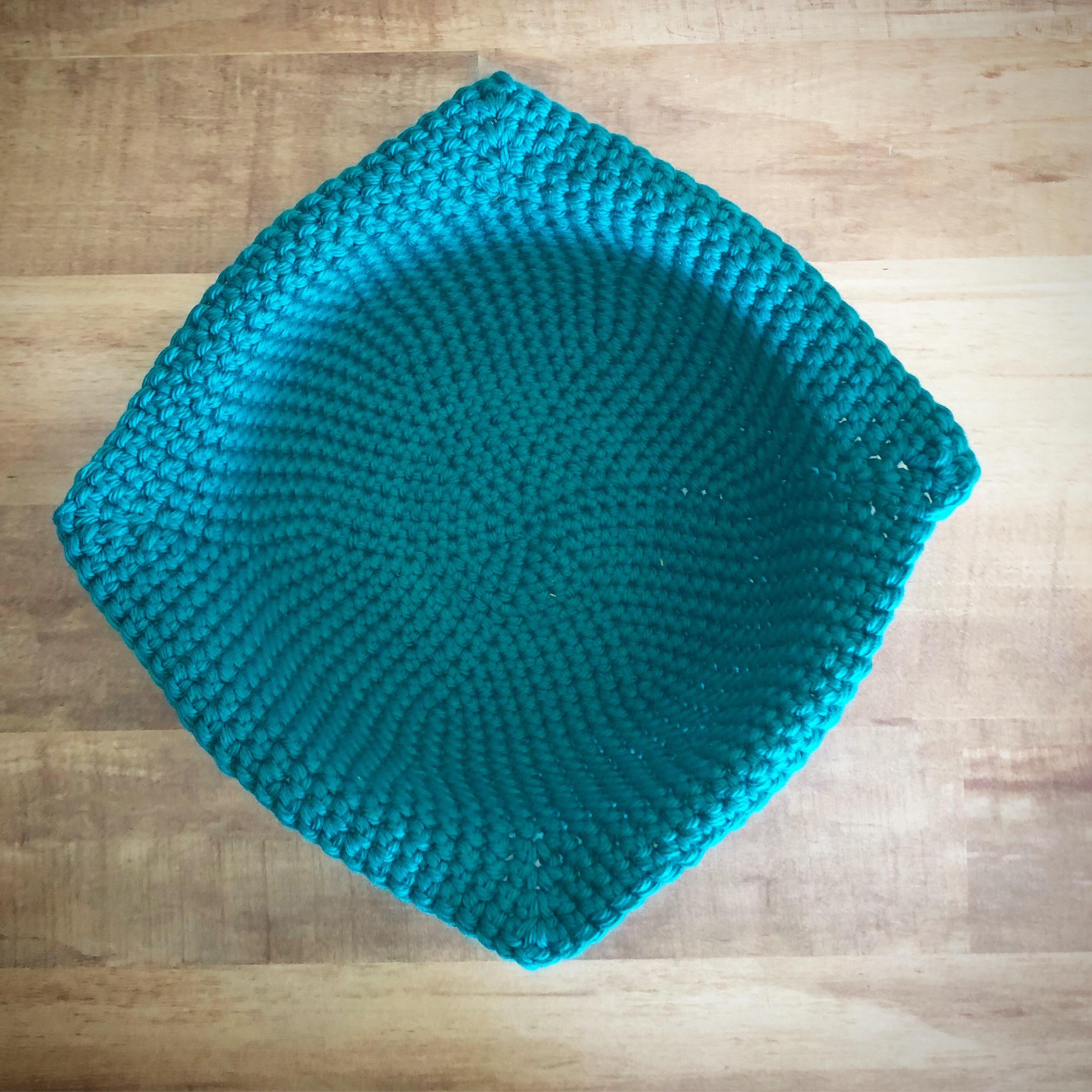 crochet microwaveable bowl cozy