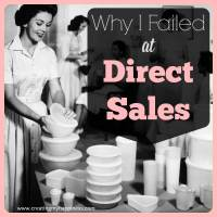 Why I Failed at Direct Sales