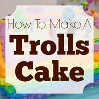 How to Make a Trolls Cake