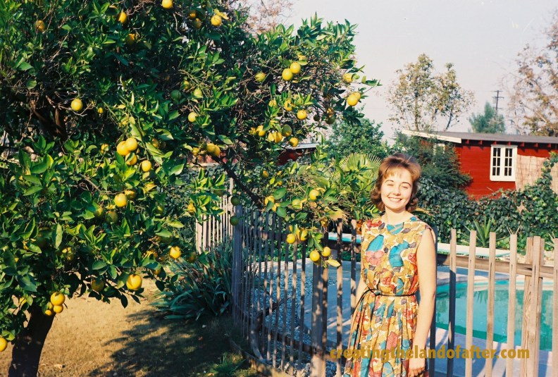 I loved LA with the orange trees and being able to swim all year.