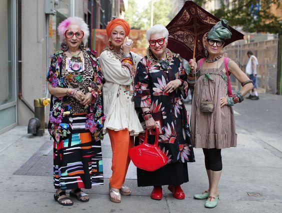 "Great posters celebrating ""older"" women – aging is wonderful"