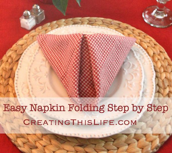 Napkin Folding Title