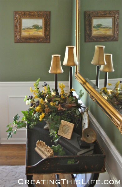 Oil Painting Dining Room