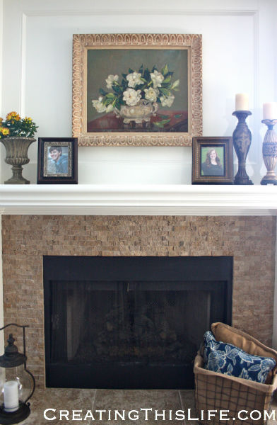 Oil Painting Family Room
