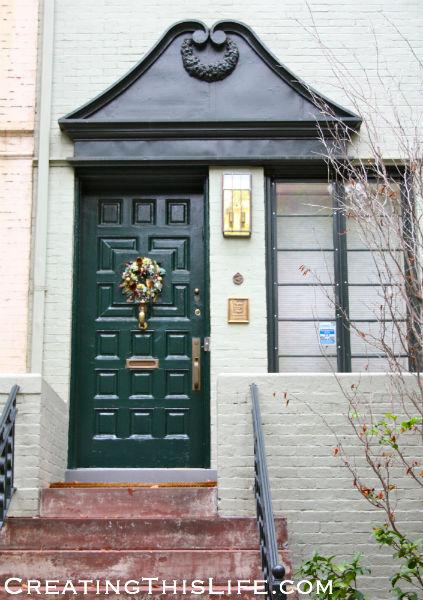 Georgetown doorway
