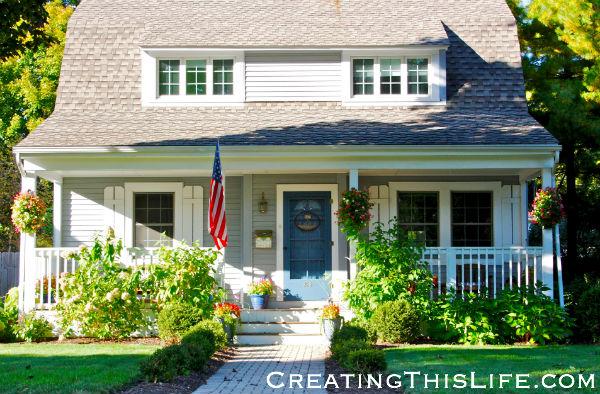 Naperville Blue House