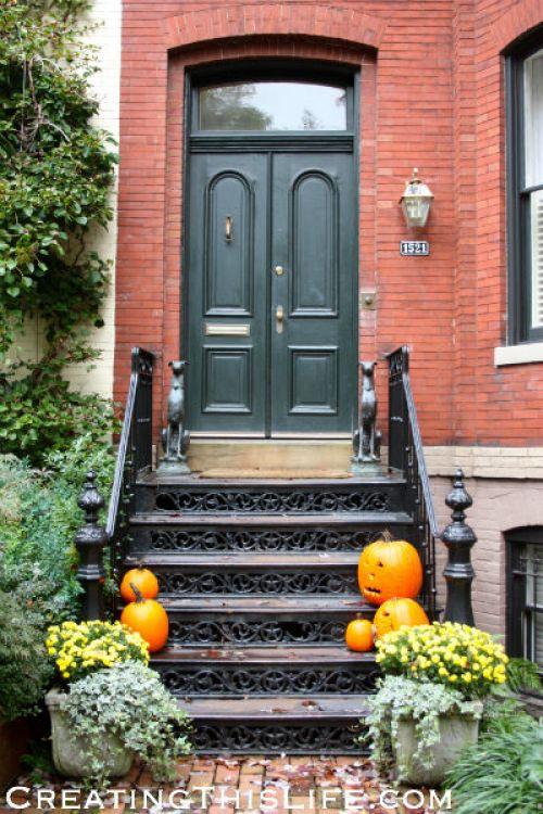 georgetown doorway green